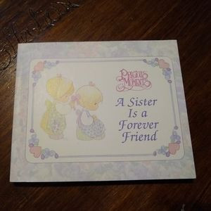 Precious Moments a sister is a forever friend book